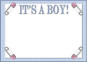 Free It's A Boy! Invitation