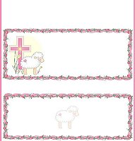 <b>Little Lamb Pink Candy Wrapper </b><br />