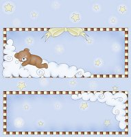 <h3>Lullabye Bear Candy Wrapper </h3>