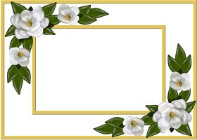 Free Printable Magnolia Card And Invitation