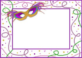 <h3>Mardi Gras Invitation </h3>