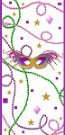 <h3>Mardi Gras Mini Wrapper </h3>