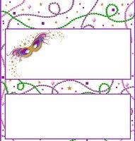 Free Mardi Gras Printable Candy Wrappers Raspberry Swirls