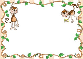 Free Printable Monkey Around Invitation