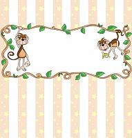 <h3>Monkey Around Candy Wrapper </h3>