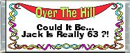 Free Printable Over The Hill 2 Candy Bar Wrapper