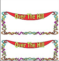 <h3>Over The Hill 2 Candy Wrapper </h3>