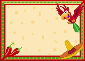 Free Printable Fiesta Card and Invitation