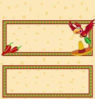 <h3>Fiesta Candy Wrapper </h3>