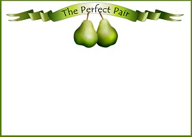 Free Printable The Perfect Pair Card And Invitation