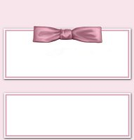 <h3>Pink Bow Candy Wrapper </h3>
