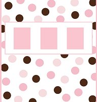 <h3>Pink & Brown Candy Wrapper </h3>