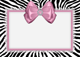 Free Printable Pink Zebra Invitation