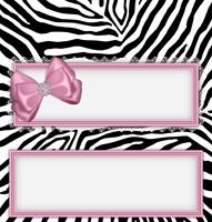 <h3>Pink Zebra Candy Wrapper </h3>