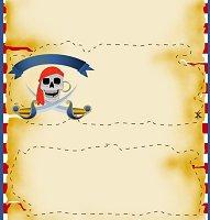 <h3>Pirate Candy Wrapper </h3>