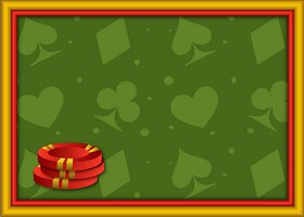 <h3>Casino Poker Chips Invitation </h3>