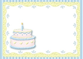 Free Pastel Birthday Invitation