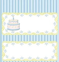 <h3>Pastel Birthday Candy Wrapper </h3>