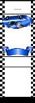 <h3>Race Car (blue) Mintbook </b></h3>