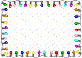 Free Printable Party Lights Invitation