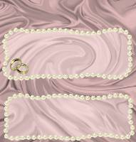 <h3>Pink Satin and Pearls Candy Wrapper </h3>
