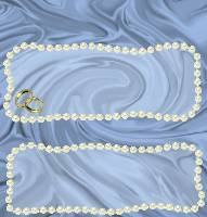 <h3>Blue Satin and Pearls Candy Wrapper </h3>