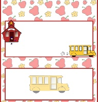 <h3>Back To School Candy Wrapper </h3>