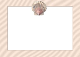Free Printable Seashell Card And Invitation