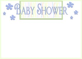 Free Printable Baby Shower 2 Invitation
