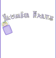 <h3>Slumber Party Candy Wrapper </h3>