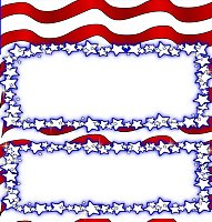 <h3>Patriotic Candy Wrapper </h3>