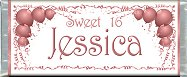 <h3>Sweet 16 Sample Candy Wrapper</h3>