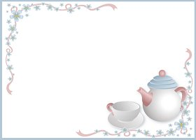 Free Printable Tea Party Invitation
