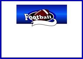 Team Football (blue)