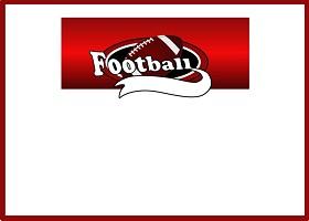 Team Football (red)