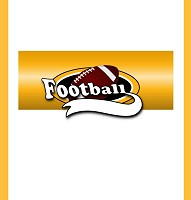 <h3>Team Football (gold) Candy Wrapper </h3>