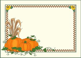 Free Printable Thanksgiving Card And Invitation