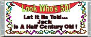 Free Printable Look Who's 50 Candy Bar Wrapper