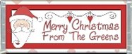 Free Printable 1 Santa Claus Lane Candy Bar Wrapper