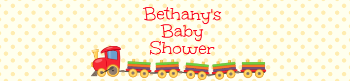 Customizable Baby Shower Water Bottle Label Template