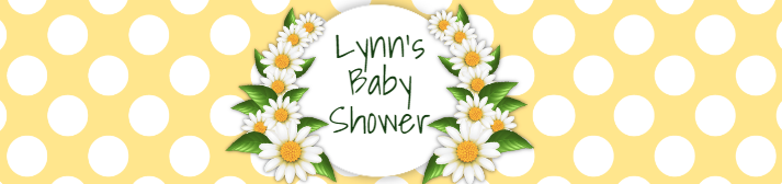 Free editable Baby Shower Water Bottle Label Template