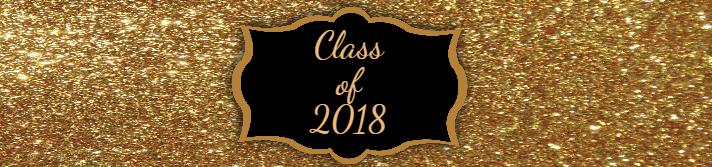 Gold Graduation Water Bottle Label Template