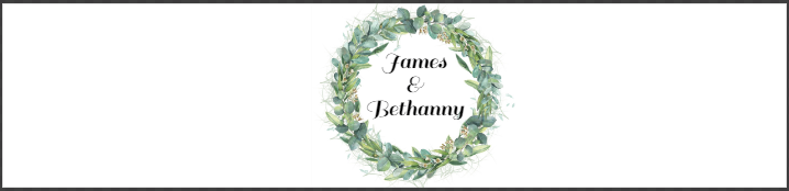 Greenery Wreath Wedding Water Bottle Label Template