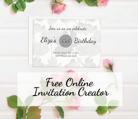 Envite Online Wedding Invitation Generator Raspberry Swirls